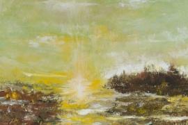 Sun of silence | Acryl op doek | 40x60 cm | € 450