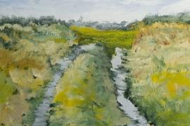 Een weg | Acryl op doek | 60x80 cm | € 650