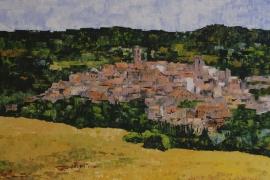 Bella Tuscany | Acryl op doek | 100x80 cm | Verkocht