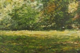 Struweel | Acryl op doek | 100x70 cm | € 900