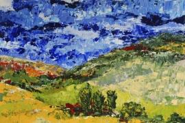 Sauerland | Acryl op doek | 70x70 cm | € 700