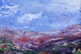 Herinnering Graechen | Acryl op canvas board | 50x40 cm | € 300