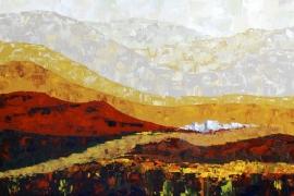 Omnesiland | Acryl op doek | 100x50 cm | Verkocht