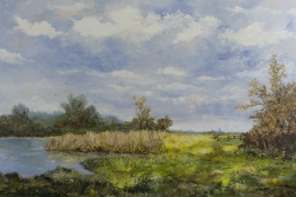 Najaarsrust | Acryl op doek | 100x70 cm | € 900