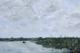 Buitengaats | Acryl op doek | 100x70 cm | € 800