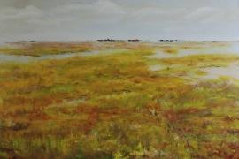 Wetland | Acryl op doek | 100x70 cm | € 900