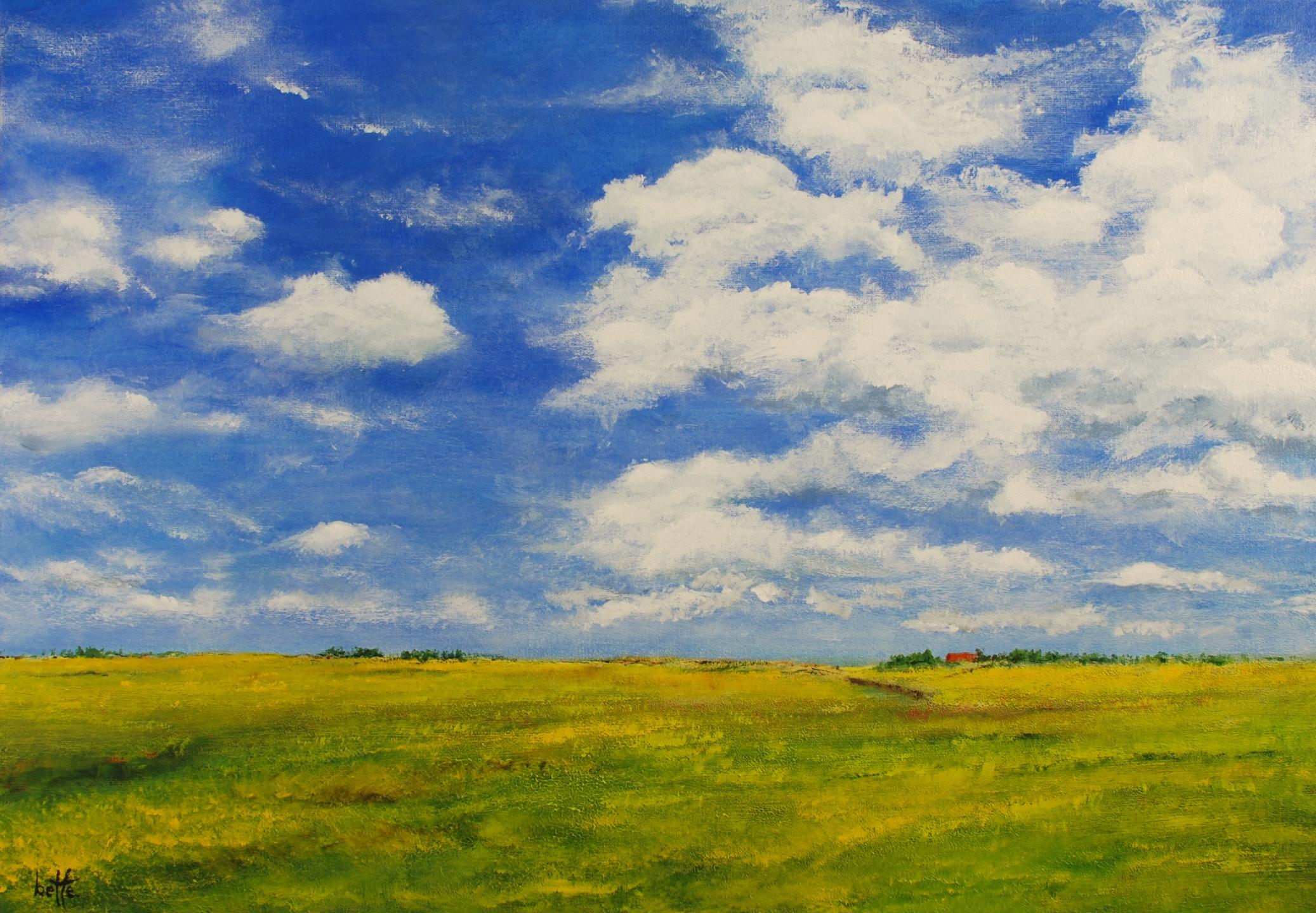 279 - Boven de polder de hemel