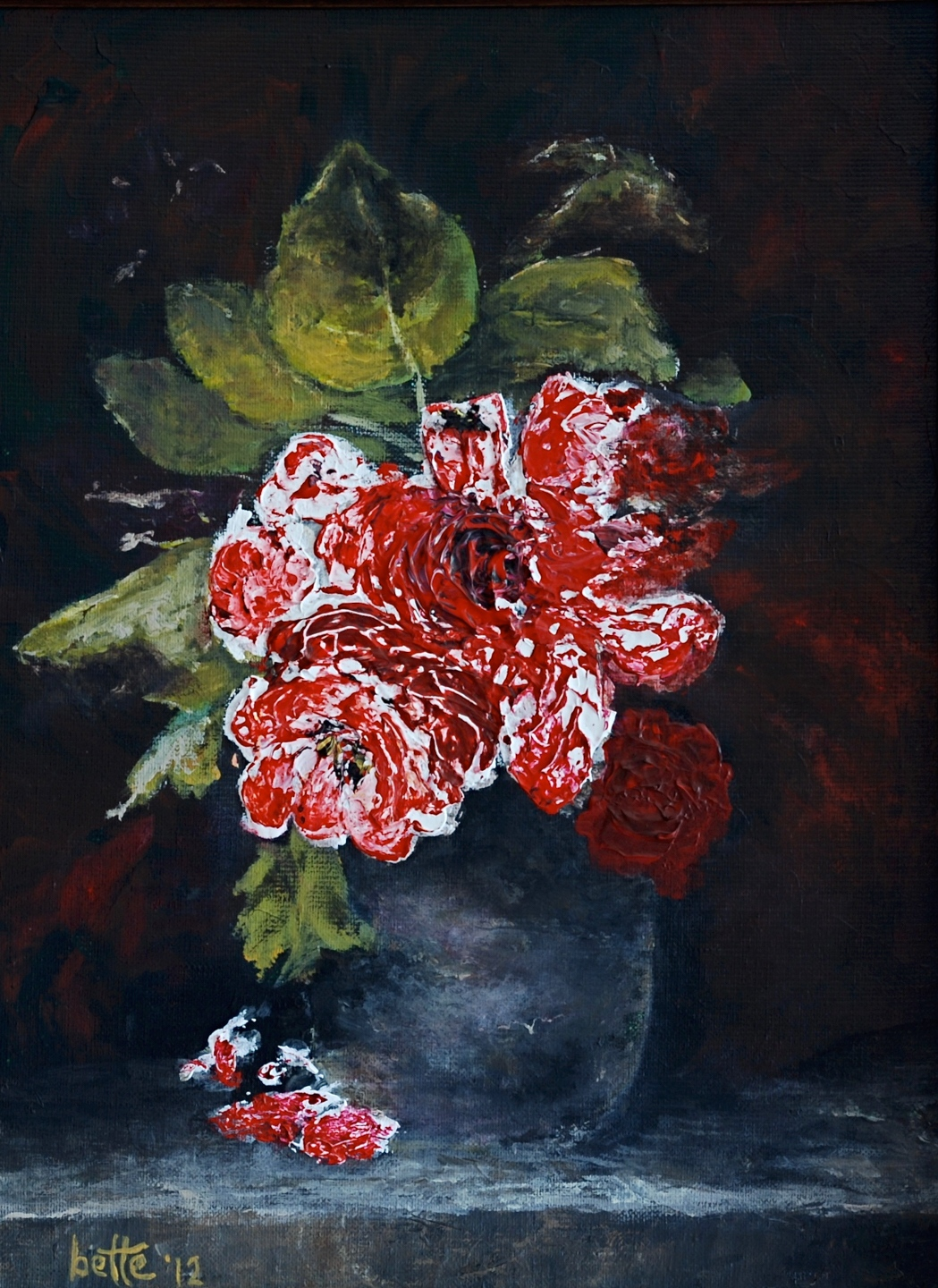 199 - Red roses
