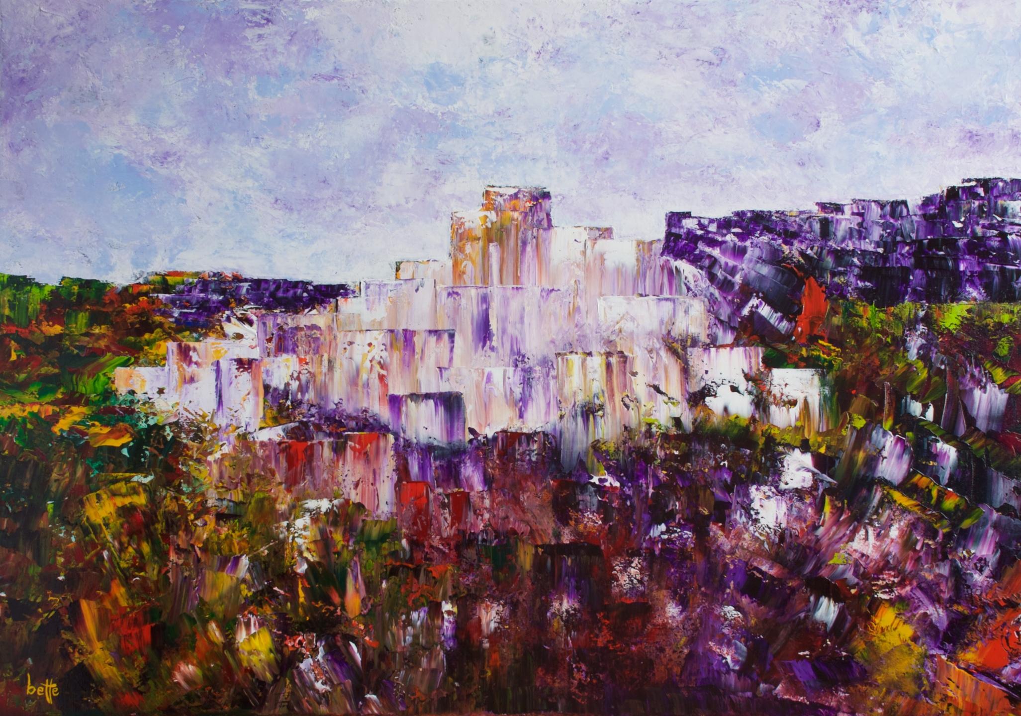 319 - Carrara marmerstad