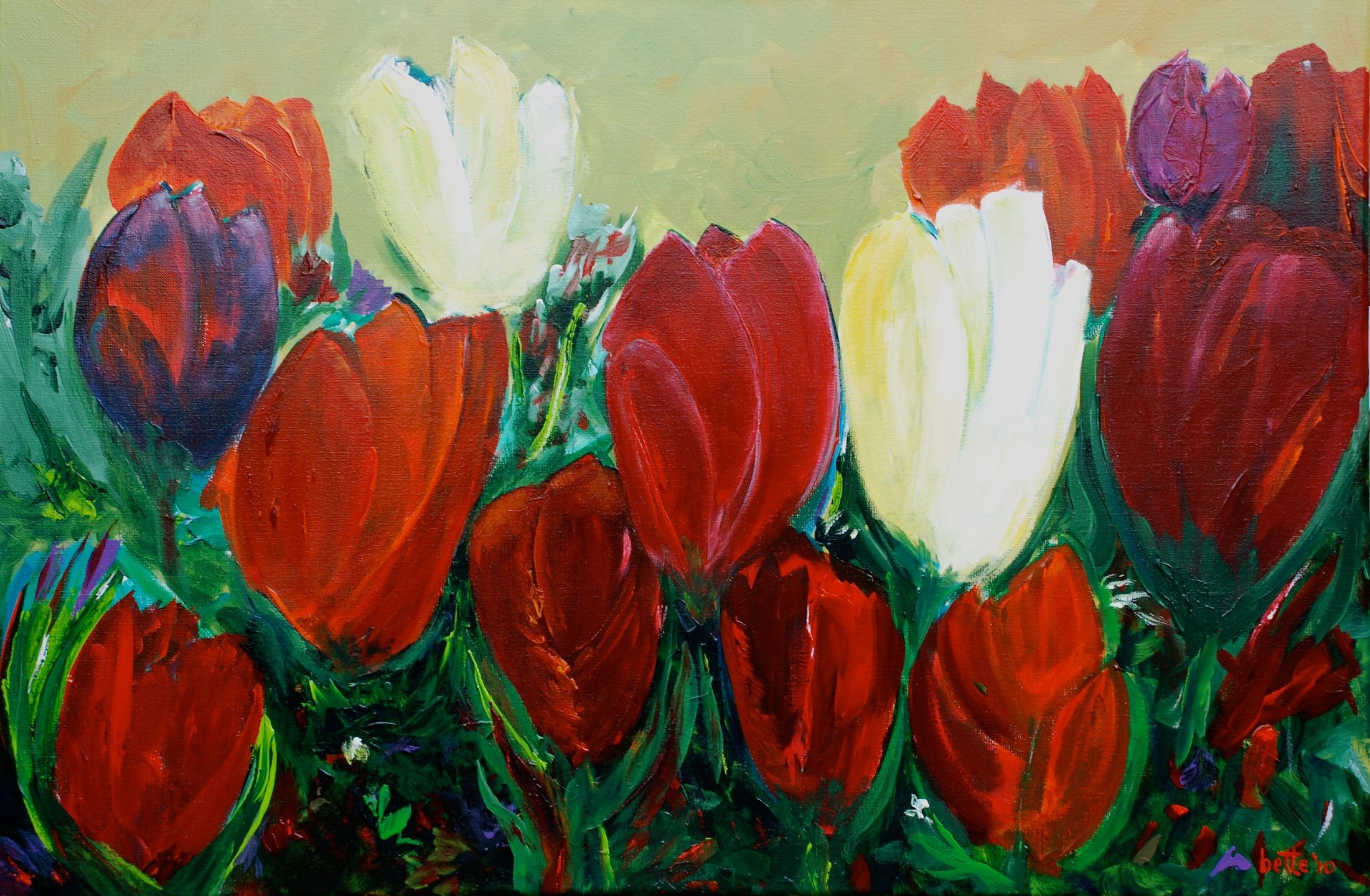 101 - Tulpencompositie