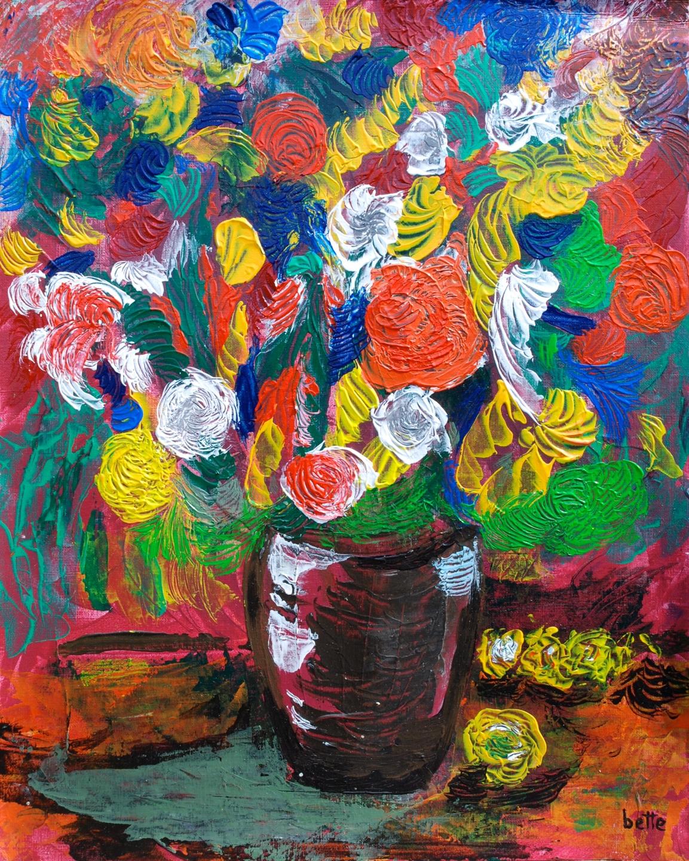 017 - Bloemenweelde in vaas