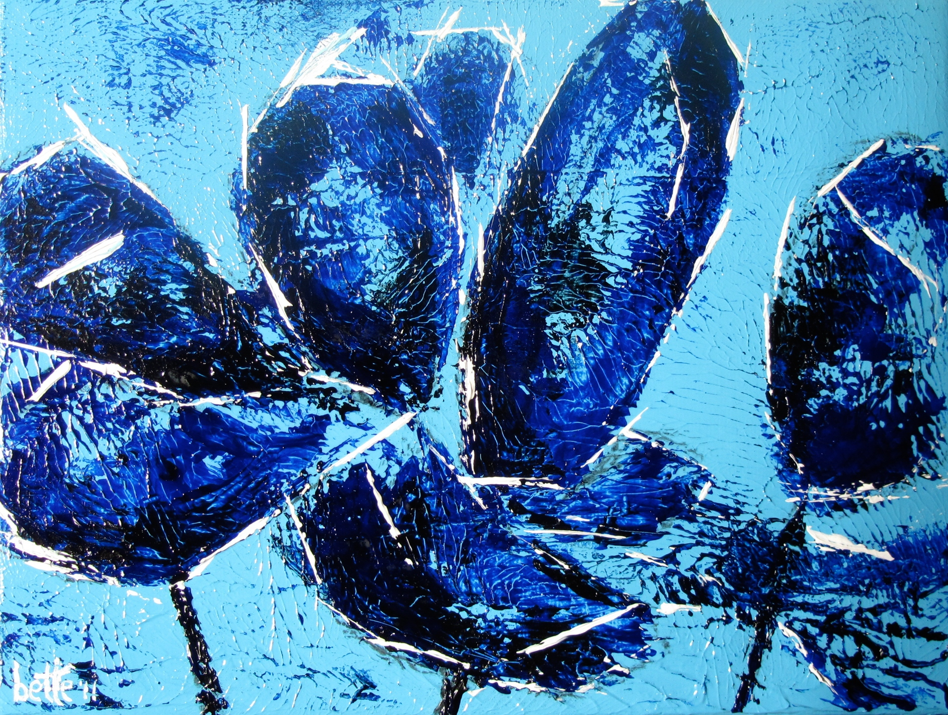 174 - Composy in blue
