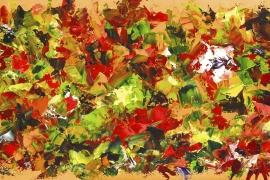 Heerlijke herfst | Acryl op doek | 100x50 cm | € 700