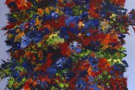 Kleurenschat | Acryl op doek | 120x100 cm | € 1100