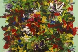 Summer afternoon | Acryl op doek | 70x70 cm | € 700