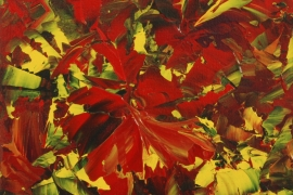 Autums leaves | Acryl op doek | 30x40 cm | € 200