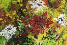 Fortisimo | Acryl op doek | 120x100 cm | € 1350