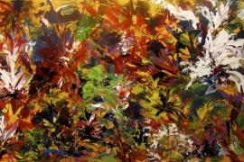 Gloedvol | Acryl op doek | 120x50 cm | € 700