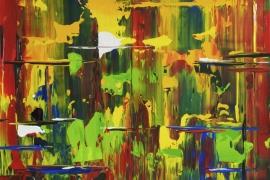 Rhode Island | Acryl op papier | 46x38 cm | € 150