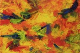 2P | Acryl op papier | 48x36 cm | € 150