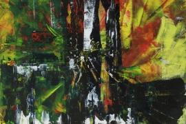 2N | Acryl op papier | 36x48 cm | € 150