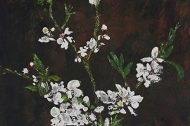 Met het oog op de lente | Acryl op doek | 60x90 cm | € 500