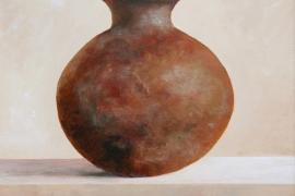 Vaas | Acryl op doek| 40x50 cm | n.t.k.