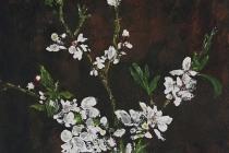 Met het oog op de lente   Acryl op doek   60x90 cm   € 500