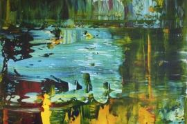 Painting Serie 3A   Acryl op doek   50x70 cm   Verkocht