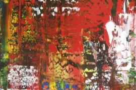 Painting Serie 3D   Acryl op doek   50x70 cm   € 550