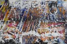 Painting Serie 3K   Acryl op doek   60x40 cm   € 450