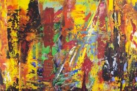 Painting Serie 3J   Acryl op doek   50x70 cm   € 550