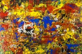 Painting Serie 2018 2   Acryl op doek   100x70 cm   € 850