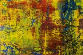 Painting Serie 2018 1   Acryl op doek   100x70 cm   € 850