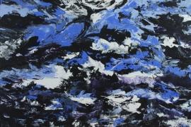 Flow   Acryl op doek   100x70 cm   € 800