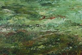 Groeneveld   Acryl op doek   100x70 cm   € 800