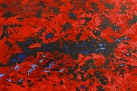 Ceacilia | Acryl op doek | 120x100 cm | € 1500