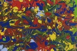 Levendige Beweging I | Acryl op papier | 40x30 cm | € 150