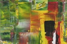 Richterisch III | Acryl op doek | 30x40 cm | € 250