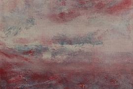 Vluchtige bespiegeling | Acryl op doek | 30x40 cm | € 250