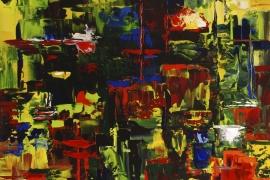 Passacaglia | Acryl op doek | 70x70 cm | € 750